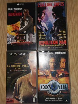 Varios VHS