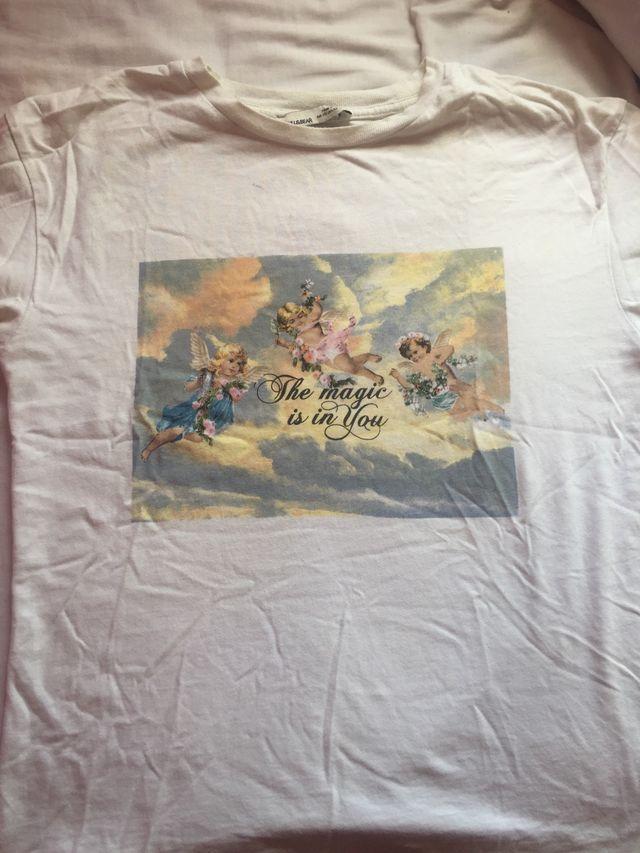 Camiseta con angeles