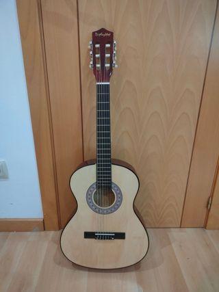 Kit de guitarra acústica con funda y cuerdas