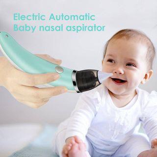 Aspirador nasal electrico bebe y niños saca mocos