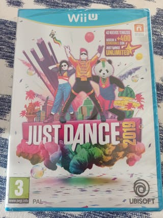 JUST DANCE 2019 WIIU precintado
