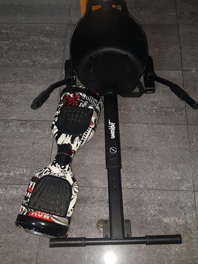 Hoverboard Con Silla Y Bluetooth De Segunda Mano Por 135 En Esparreguera En Wallapop