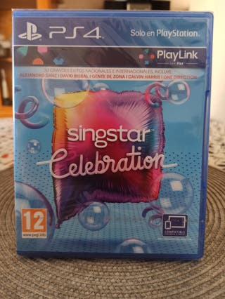SINGSTAR CELEBRATION PLAYLINK PS4