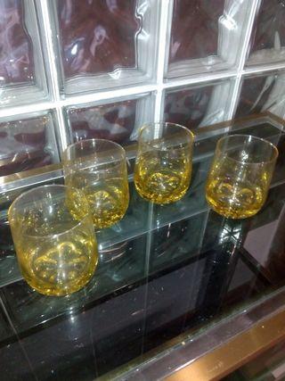 Juego vasos whisky vintage