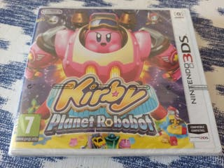 Kirby planet robobot 3DS precintado