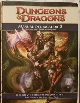 DUNGEONS AND DRAGONS. MANUAL DEL JUGADOR 2.