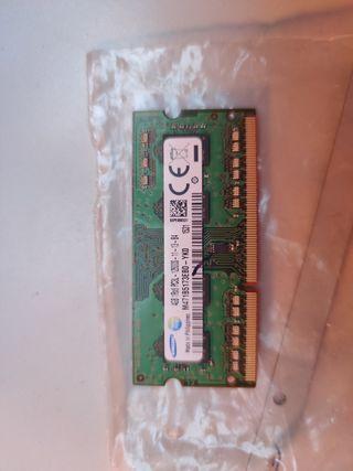 Memoria RAM Samsung 4g