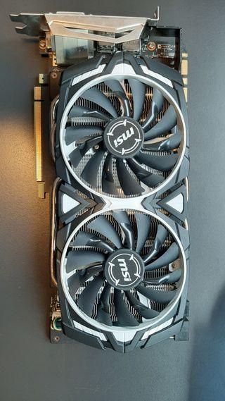 MSI GeForce® GTX 1080 Armor 8G OC 8GB GDDR5X - Tar
