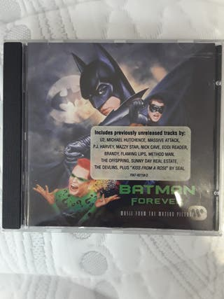 "CD BANDA SONORA ORIGINAL ""Batman Forever"""