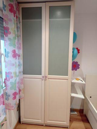 2 puertas para armario ikea pax 236 alto