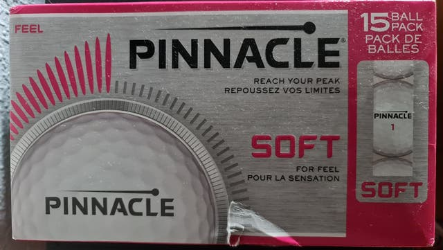 Pelotas de Golf PINNACLE SOFT, TITLEIST nuevas