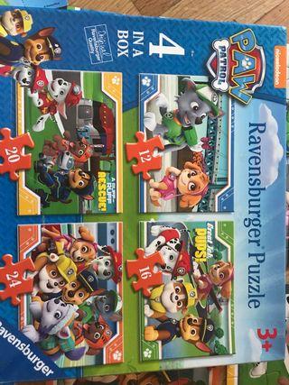 Puzzle Patrulla Canina 3 años