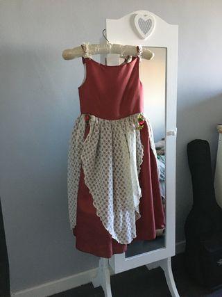 Vestido tipo Mesonera/Cortesana