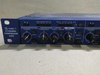Samson S.Com4 Compresor de 4 canales