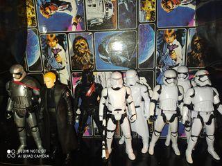 Star Wars lote figuras