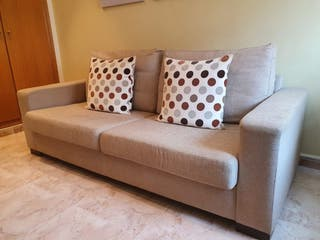 Sofá 3 plazas, no se ha usado, desenfundable,