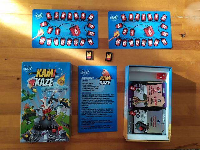 Kamikaze juego de mesa