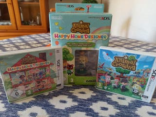 lote animal crossing 3DS
