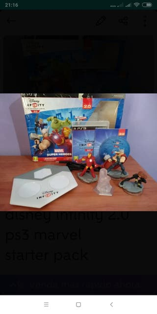 disney infinity 2.0 ps3 marvel