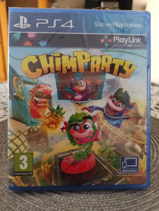 CHIMPARTY PLAYLINK ps4 familiar