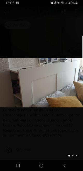 Cabecero Brimnes Ikea Cama 135