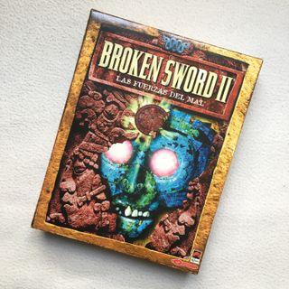 """Caja del juego de PC """"Broken Sword"""""""