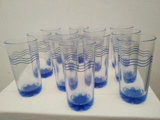 12 vasos Vintage