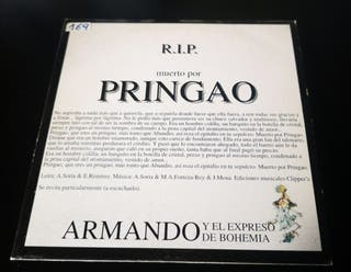 Pringao cd single promo / Canta Pau Donés