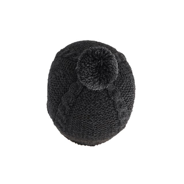 Capota bebé lana 3-6 meses gris marengo