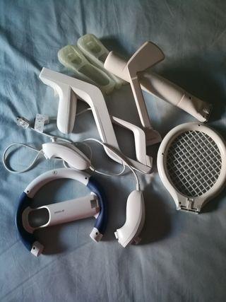 accesorios para Wii 40€
