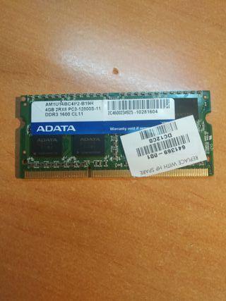 Tarjeta de memoria RAM. SO-DIMM DDR3