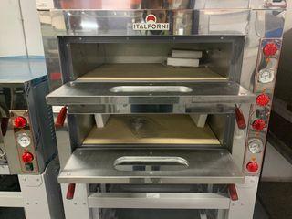 horno electrico para pizza italiano dos camara