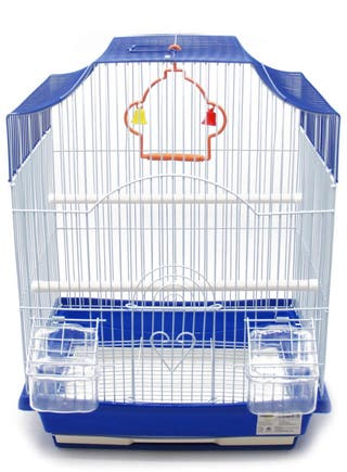 Pack de 2 jaulas nuevas para pájaros