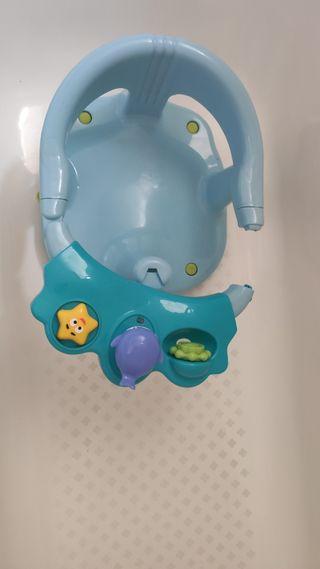 Asiento baño para bebé
