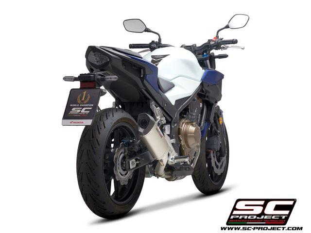 SC PROJECT HONDA CBR500R-F-X (2019-2020)