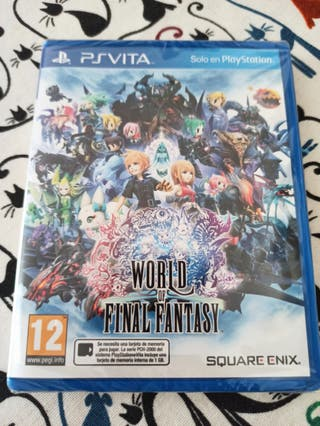 world of final fantasy psvita precintado