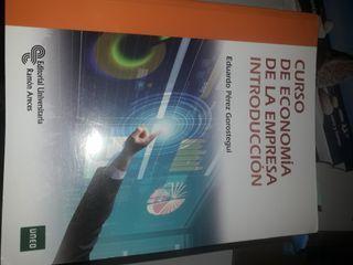 libros curso de economia de la empresa introducció