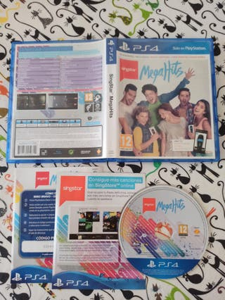 SingStar megahits PS4 canciones en castellano