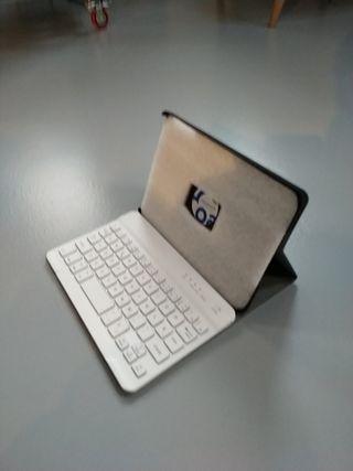 Funda iPad mini con teclado inalámbrico