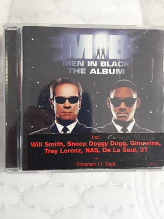 "CD BANDA SONORA ORIGINAL de ""Men in black"""