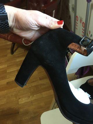 Zapatos de ante chie mihara