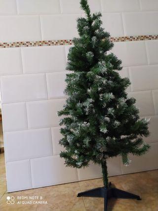 arbol navidad 150cm nevado