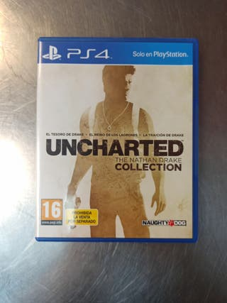 Uncharted Collection, PS4