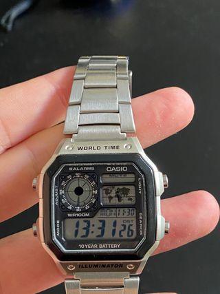 Casio Reloj de cuarzo para hombre