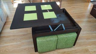 Mueble Salón y mesa centro