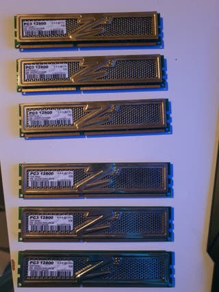 MEMORIA RAM OCZ GOLD MODULOS 2GB PC3 12800