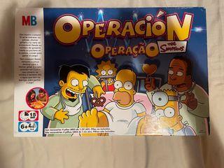 Los Simpsons juego de operación