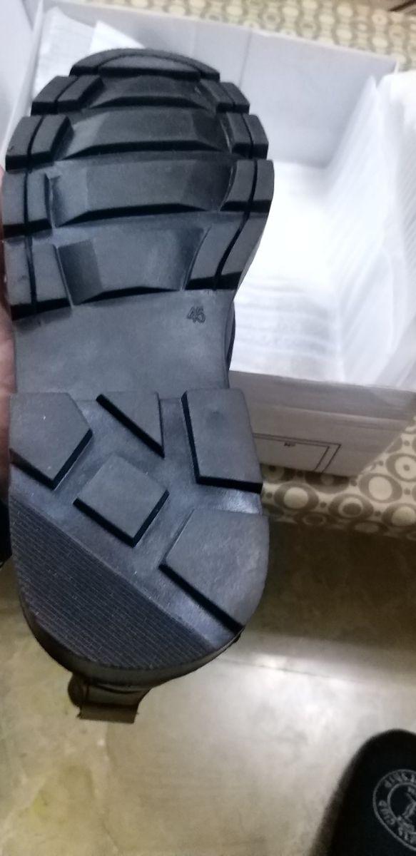 Botas de alta de piel