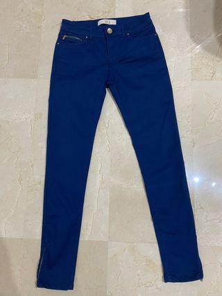 Pantalón tiro alto mujer de Zara