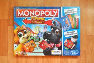 Monopoly Junior Electrónico (A ESTRENAR) El juego